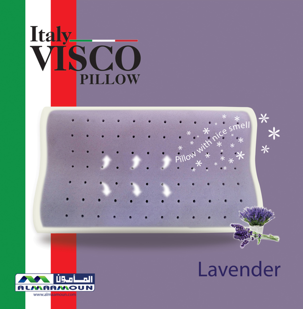 Picture of Al Maamoun Italy Memory Foam Pillow
