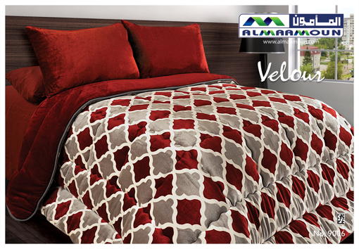 Picture of Velour Quilt Single Size